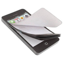 1 Pcs Cell Phone Shaped Memo Pad Gift Office Supplies Post Note Paper Cell Phone Memo Pad Gift Note Paper(China)