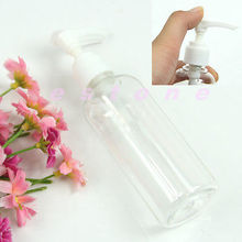 Free Shipping 5pcs/lot Portable Perfume Sprayer Atomizers Water Plastic Bottle Empty Pump 100ML(China)