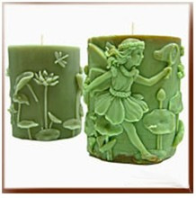 Girl Candle Mold Silicone Soap Mold Candle Mould DIY Candle Making Mold(China)