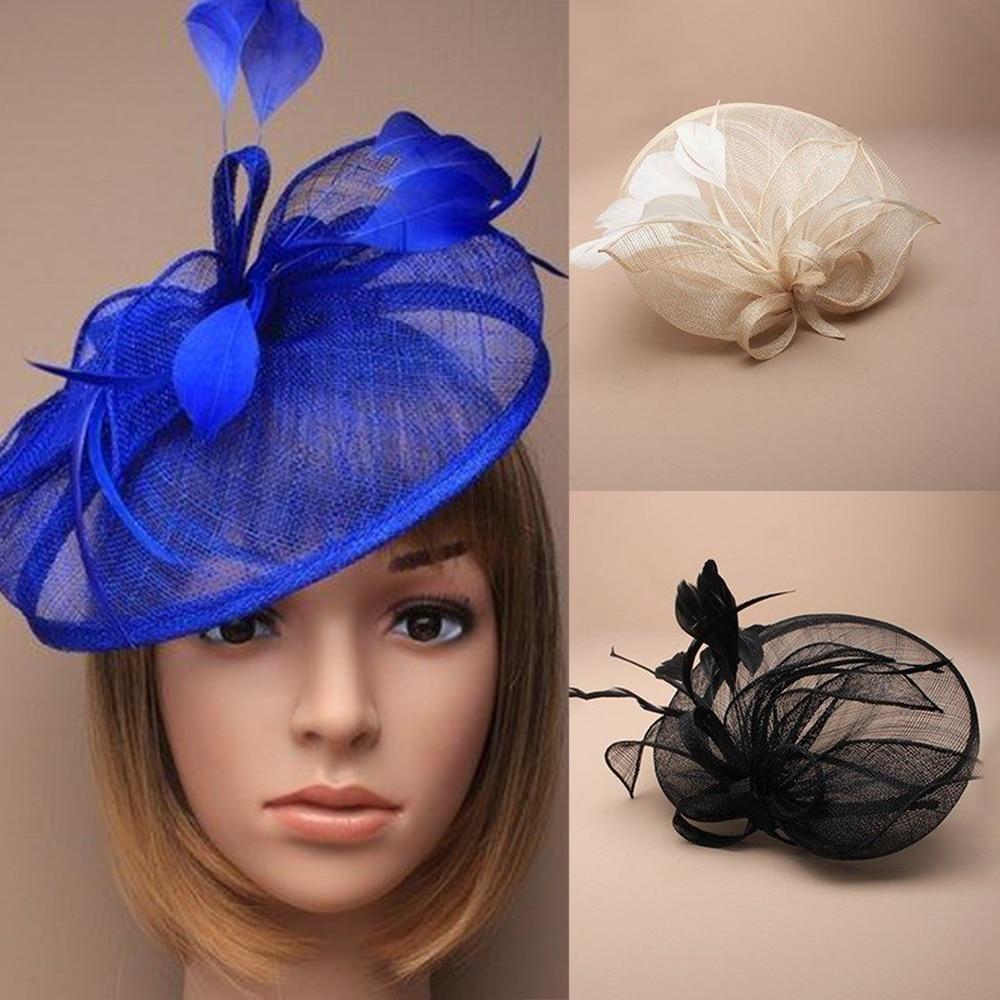 Large Headband Aliceband Hat Fascinator Weddings Ladies Day Race Royal Ascot 15