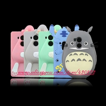 For Huawei Ascend Mate 8 Case Cute 3D Silicone Totoro Stitch Rabbit Bunny Cartoon Design Soft Cell Phone Defender Back Cover