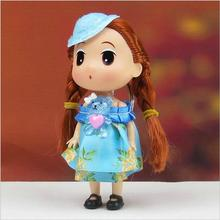 Handmade 12cm 12pcs/lot exquisite fashion doll Best-selling Europe and the United States for Christmas gifts free shipping
