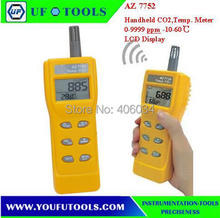 AZ 7752 Digital CO2 Meter \AZ-7752 Handheld Analyser CO2 Temp. Meter / AZ7752 dioxide Gas Detector
