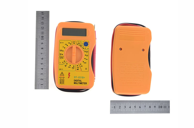 Electrical Instrument Digital Multimeter Voltmeter Ammeters Ohmmeter Professional Diagnostic Tool Tester P00
