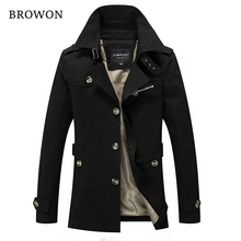Men Jacket Coat Long Section Fashion Trench Coat Jaqueta Male Veste Homme Brand Casual Fit Overcoat Jacket Outerwear 5XL
