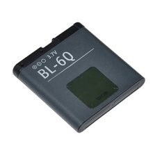 Newest High Quality Free Shipping Phone Replacement Battery 960mAh BL-6Q Battery for Nokia 6700