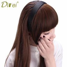 Buy DIFEI Fashion Hair Clip Bangs Fake Hair Extension False Hair Piece Front Clip Bangs Extension for $5.10 in AliExpress store