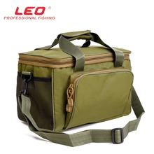 LEO Army Green Oxford Canvas Outdoor Multifunction Fishing Lures Bag