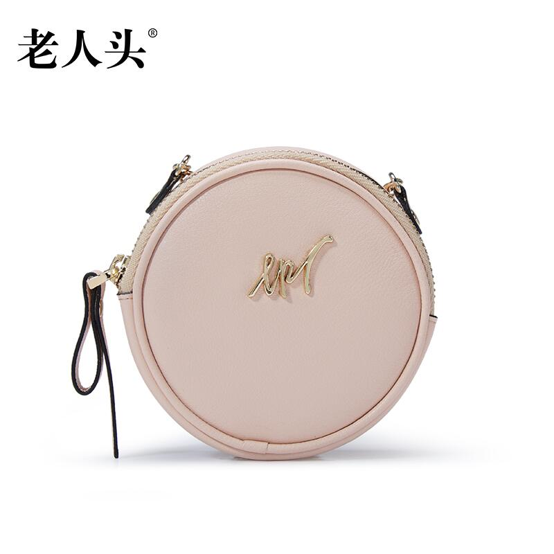 LAORENTOU brand women leather wallets cute mini small bag round purse quality leather coin bag<br><br>Aliexpress