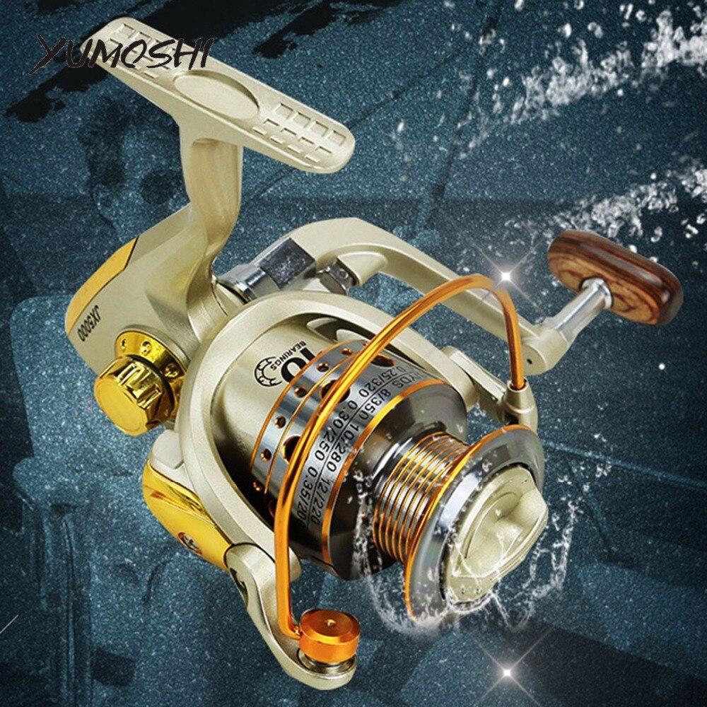 Ultra Light Freshwater Fishing Reel EF500-7000 Series with Metal Rocker B7