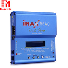 IMAX B6AC RC Balance Battery Charger B6 AC 80W Nimh Nicd lithium Battery Balance Charger Discharger with Digital LCD Screen EU