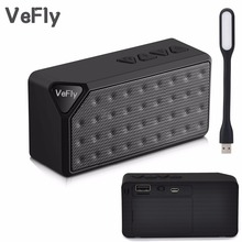 VeFly Mini Portable smart Bluetooth Speaker, Wireless Speakers FM Audio radio mode music Player column with TF Card usb drive