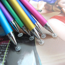 2PCS Brand New 9 Color 12.5cm Metal Fine Point Round Thin Tip Capacitive Stylus Pen For iPad 2/3/4/5/air/mini For Amazon Tablet(China)