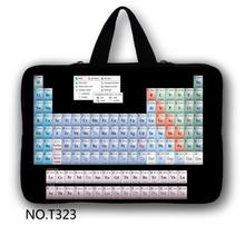 Periodic Table Laptop Bag 7'' 10'' 12'' 13'' 15'' inch Laptop Sleeve Case 15.6 Notebook Computer Handbag Accessories 13.3