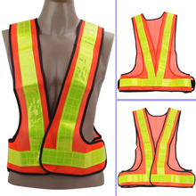 Buy Universal Unisex Adjustable Belt Outdoor Safety High Visibility Reflective Vest Gear Stripes Running Night Riding Cycling for $3.19 in AliExpress store