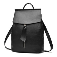 Woman Backpack Fashion 2017 Designers Spanish Brand School Bag Student Soild Backpacks Black Blue Bolso Mochila Mujer Pequeno