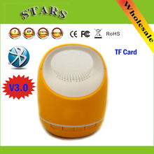 Mini Wireless Music player and blue tooth bluetooth speakers stereo loudspeakers with TF Card/Mic