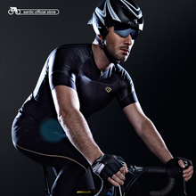 Buy Santic Men Cycling Short Jersey Extreme Fit Water Diffusible Fabric Seamless Cuff Road Bike Short Sleeve Cycling Clothings 2121 for $47.90 in AliExpress store