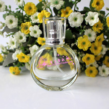 DHL Free 20CC Glass Perfume Atomizer 20ML Perfume Bottle Cosmetics Spray Bottles Empty Clear Parfum Packaging Bottle 100pcs/Lot