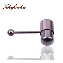 Stainless Steel  Vibrating Tongue  Ring Piercing Body Jewelry