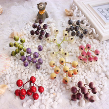 1PCS Simulation fruit is cherry blossoms as female department of berry wreath of diy clip accessories