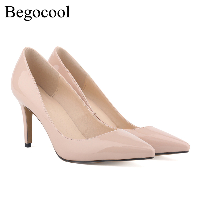 Begocool shoes women high heels 9cm fashion pumps for cheap chaussure femme BGC-09-09001 classic on sale<br>