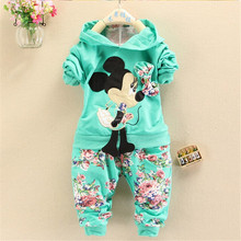 Buy BibiCola Spring Autumn baby girls christmas outfits Sport suit clothing set hoodies pants kids minnie mouse clothes sets for $9.51 in AliExpress store