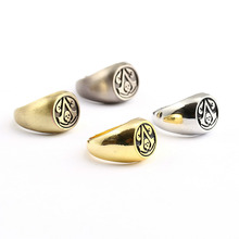 Assassins Creed Master Rings Halloween Party Role Orn Men Boys Cosplay Skull Rings HC11644