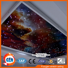 Manufacture Barrisol pvc stretch ceiling film for ceiling and wall decoration(China)