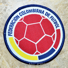 HOT SALL! ~ football badge logo Iron On Patches, sew on patch,Appliques, Made of Cloth,100% Quality
