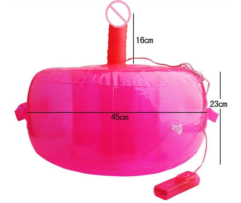 16*4cm Vibrating Dildo Inflatable Sex Furniture, Sex Chair Realistic Dildo Vibrators For Women, Adult sex furniture Sex Machine.<br>