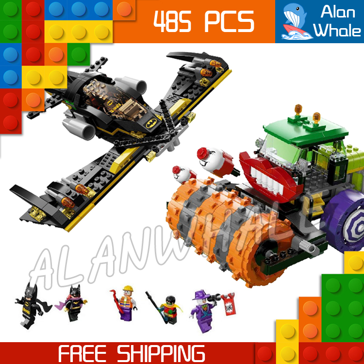 485pcs 2016 Bela 10228 DC BATMAN The Joker Steam Roller ROBIN Super Heroes amazing fascinating mysterious Compatible with Lego<br>