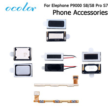 ocolor Elephone P9000 S7 S8 Pro New Ear Speaker Receiver Earpieces Power Volume Button Flex Cable Loud Speaker