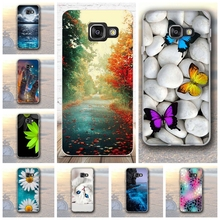 Soft TPU For Coque Samsung Galaxy A3 2016 A310F Case Silicon Skull Back Cover For Funda Samsung Galaxy A3 (2016) A310F Case Capa