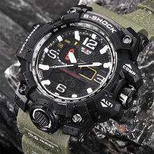 New Fashion Quartz Watches Men's LED Digital-Watch Men Casual Style Waterproof Military Sports WristWatch Male Relogio Masculino
