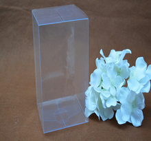 Size:7*7*18cm, clear plastic box packaging ,tall pvc box packing , wedding gift packaging pvc clear boxes