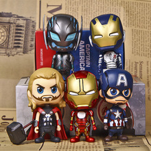 Marvel The Avengers Super Heroes Action Figures Toys Captain American Iron man Thor toy best gift