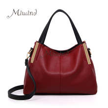 Women Bags Handbag Tote Over Shoulder Sling Messenge Fashion Leather Big Red Crossbody Motorcycle Cool Female Designer 2017 Bags