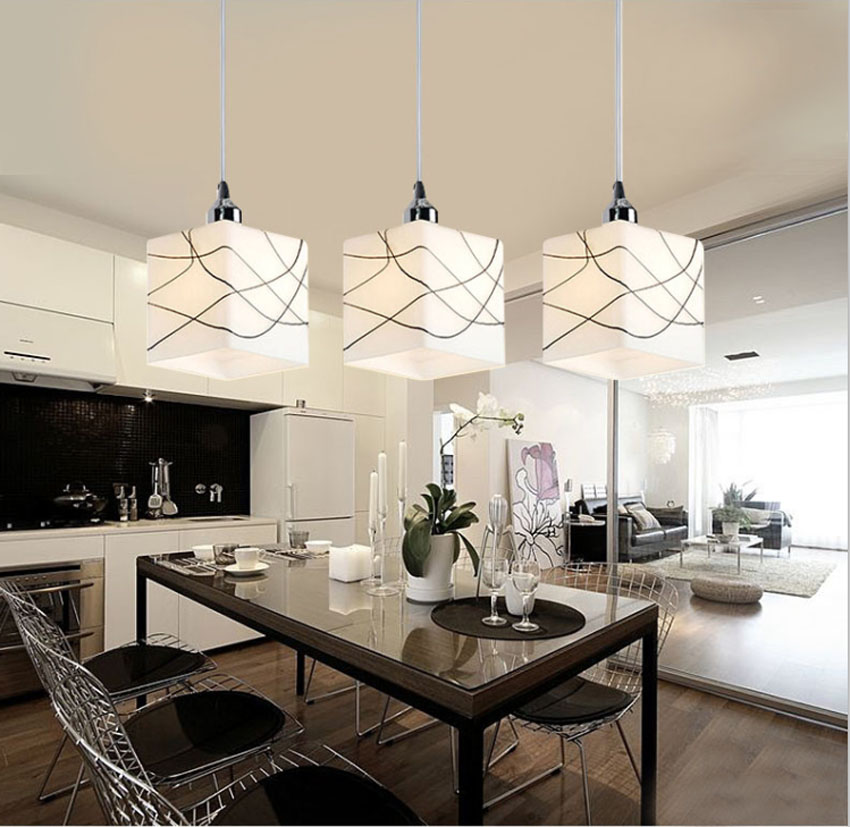 ZYY Modern Simple Pendant Light With LED Bulbs E27 9W For Restaurant Creative Porch Light Comfortable 3 heads Best Price<br>