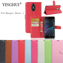 Buy YINGHUI Doogee Shoot 1 Case Fashion Phone Funda Cover Cases Doogee Shoot1 Case Coques Wallet Flip Pu Leather Phone Cases for $4.24 in AliExpress store