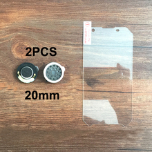 2PCS 20*20mm Original For Cell Phone BV6000 BV6000S Loud Speaker Voice Buzzer Ringer With Tempered Glass(China)