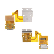 Charging USB Port Dock Ribbon Flex Cable Sensor Headphone Jack dock connector replacement For Sony Xperia Tablet Z SGP311 SGP312