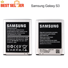 High Quality 100% Original Phone Battery for Samsung I9300 GALAXY S3 EB-L1G6LLU I9308 L710 I535