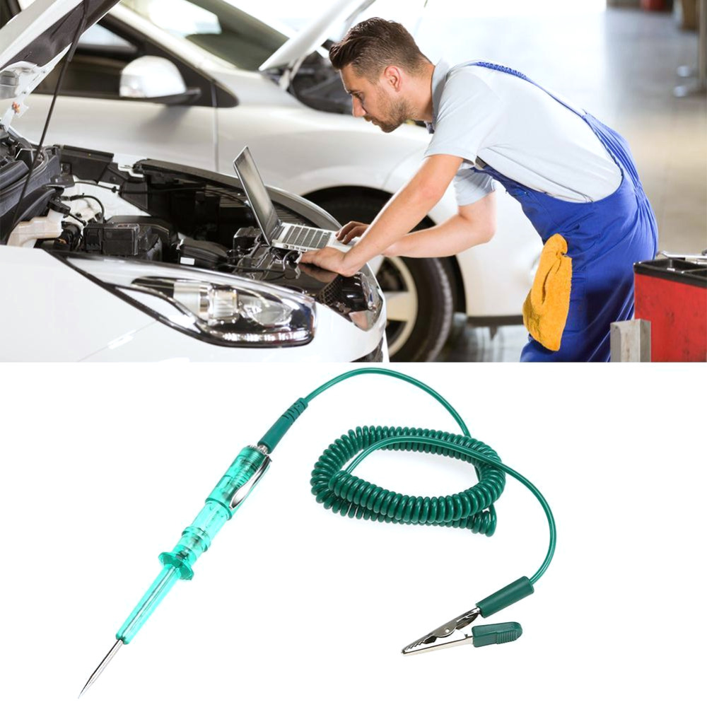 Bygd Car Voltage Circuit Tester Pencil Diagnostic Tool For 6v 12v Dc Light Continuity Long Probe Test D8050 C1