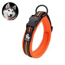 3M Reflective Dog Collars Adjustable Pet Cat&Dog Collar Outdoor Trainning Soft Air Mesh Padded Brand Pet Product
