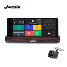 Jansite 3G 7 inch Car DVR GPS Navigation Camera Android 5.0 Bluetooth wifi Automobile with Rear view camera Navigators sat
