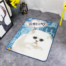 66.5x90cm Various Styles Pet Cat Pattern Cartoon Rug and Carpet Modern Simple Floor Mat Non Skid Washable Pad Doormat(China)