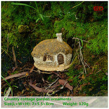 ED original quality design fairy house micro landscape nostalgic resin furnishing articles craft supplies fairy garden statues