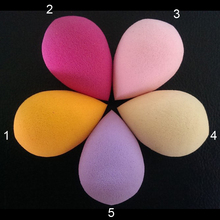 100Pcs/lot Makeup Foundation Latex sponge Cosmetic Puff Blender Blending Beauty Makeup Sponge Powder  Puff Flawless Makeup tools