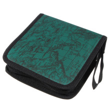 CES-40 Disc Map CD DVD Storage Holder Sleeve Case Box Wallet Bag - Green